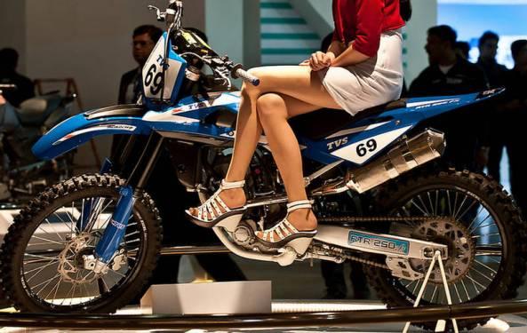 TVS Bike Show 2013